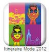 Com'On Sense créé une application Iphone pour Itineraire Mode 2012 | Com'On Sense