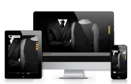 Creation site web responsive Thifany  | Agence web marseille gap bordeaux