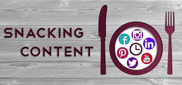 Le Snacking Content: une stratégie éditoriale en expansion