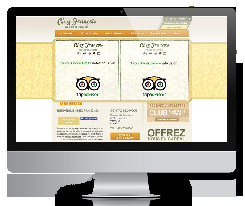 webmastering site web plaisirs de provence