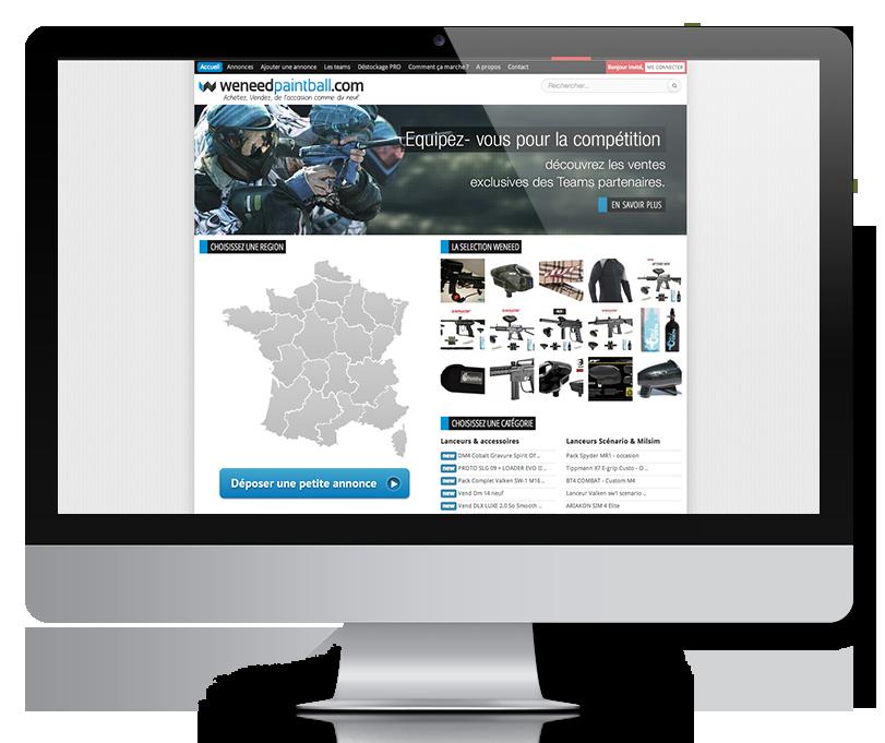We need paintball site web webmarketing