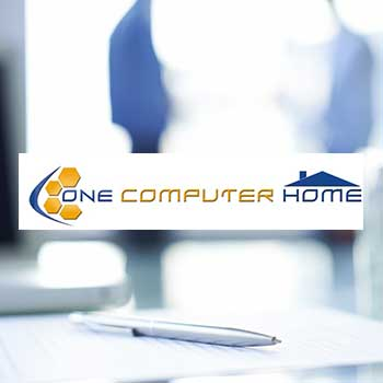 Création du site web One Computer Home