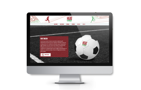 Creation site web Heatsport | Vaucluse