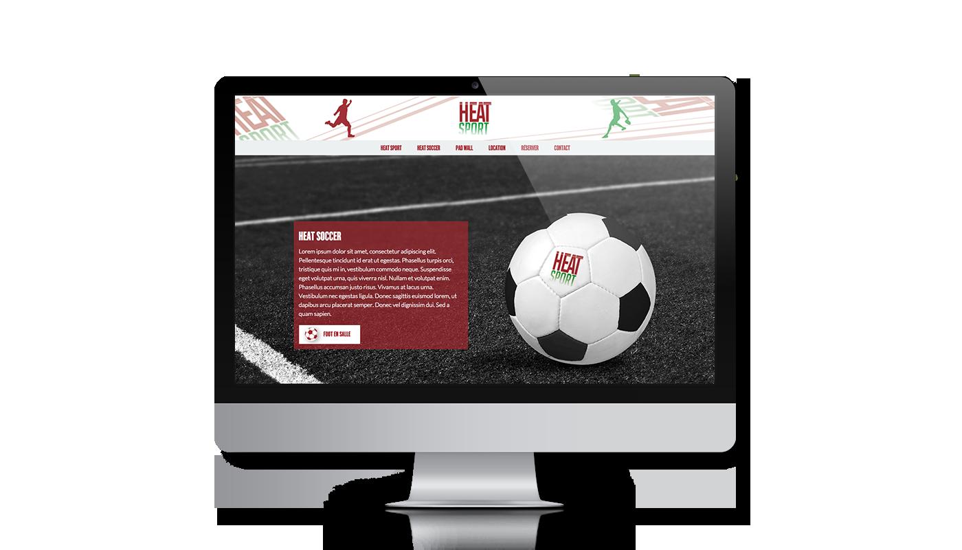 Creation site web Heatsport   Vaucluse