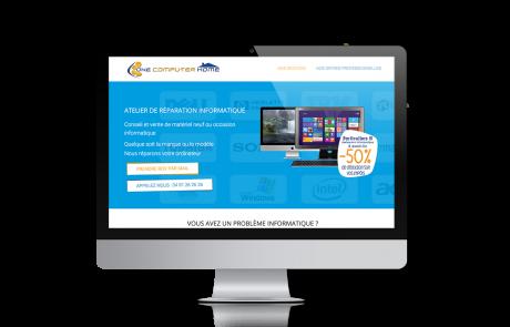 Création de Site Web One Computer Home