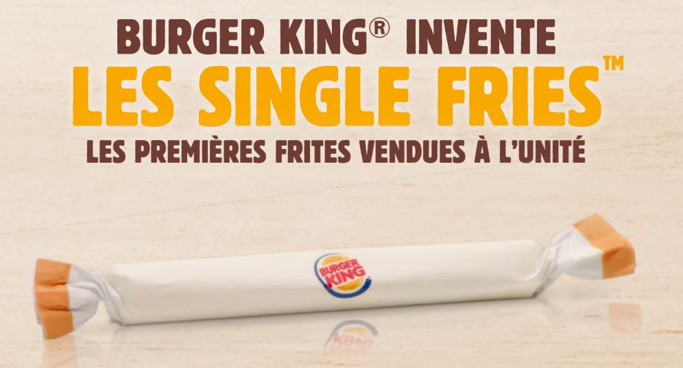 campagne communication poisson avril Burger King